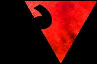 trianguloderecharojoynegro
